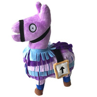 Wholesale animal horse games for sale - 25cm Fort Night Fortnite Short Plush Doll Games Grass Mud Horse Alpaca Plush Adult Toys Party Supplies Festival Gift yb3 bb