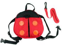 bebek sırt çantası kanatları toptan satış-2 Stilleri Bebek Çocuk Kaleci Toddler Emniyet kemeri Sırt Çantası Askısı Rein Rein Bebek böceği Anti-kayıp Yürüyüş Kanatları Çanta sırt çantaları