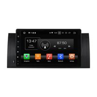 Wholesale bmw build car for sale - Octa Core inch Andriod Car DVD player for BMW X5 E39 with GPS Steering Wheel Control Bluetooth Radio