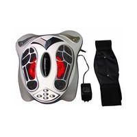 masajeador de pies máquina eléctrica al por mayor-2018 mejor venta envío gratis Digital masajeador de pies terapia de salud portátil máquina de masaje de pies de protección de la salud