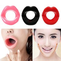 Wholesale lip massager for sale - Hot Silicone Face Slimmer Smile Corrector Mouth Muscle Anti Wrinkle Beauty Facial Massager Lip Muscle Trainer Tightener Maquiagem AAA1295