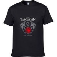 Wholesale green t house - Game Thickness of Thrones House Targaryen T Shirts for Men T Shirt Fashion Brand T Shirt Men Casual Short Sleeves Punisher T-shirt Tshir