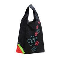 многоцветные сумочки оптовых-Eco-содружественная хозяйственная сумка нейлона Multi-color складной супермаркет Покупкы Tote Multi-color путешествия сумки складные продуктовые сумки