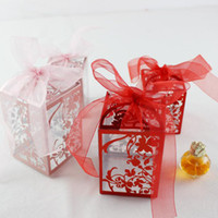 PVC Party Wedding Favor Candy Boxes Baby Shower Gift Box DIY Creative Candy Box Romantic Mariage QW7059