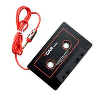 Wholesale rca audio plugs - Cassette Adapter Car Audio Stereo Tape Cassette Adapter for 3.5mm Jack Plug for Iphone MP3 CD Player