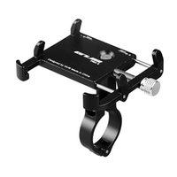 suporte para bicicleta venda por atacado-GUB Suporte de Telefone Da Bicicleta Da Bicicleta Guidão Clipe Suporte para 3.5-6.2 polegada Telefone Móvel Inteligente Suporte Universal Suporte Da Bicicleta GPS