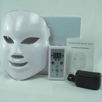 ingrosso maschera audio-La bellezza luminosa sana variopinta principale MaskLED della maschera 7 colori differenti ha condotto lo stile PDT di bellezza della maschera di cura di pelle di colori differenti
