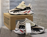 Wholesale cheap free runners for sale - 2018 Cheap Boots Sports Shoes Kanye West Wave Runner Running Shoes Mens Women Fashion Basketball Shoes Free Streetwear
