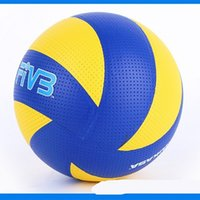 Wholesale volleyball size ball online - Mikasa MVA310 Soft Touch Volleyball Size PVC Leather Official Competition Supplies For Men Women yt W