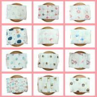 Wholesale color conditioners - 74 Styles 115*115cm Swaddling Cotton Newborn Infant Conditioner Blanket Baby Swaddles Bath Towel Newborns Muslin Blankets CCA9574 50pcs