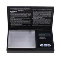 ingrosso bilancia di precisione-200 g / 0.01 g 500 g / 0.1 g 1000 g / 0.1 g digital precisione bilance per oro gioielli in diamanti bilancia bilancia tascabile elettronico LCD famiglie bilance
