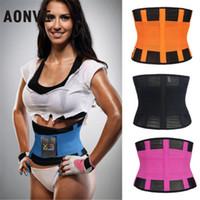 Wholesale belly belt for men - Sweat Belt Modeling Strap Waist Cincher For Women Men Waist Trainer Belly Slimming Belt Sheath Shaperwear Tummy Underwear
