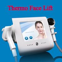 elevación de la piel del vacío de la radiofrecuencia al por mayor-Térmica de elevación de frecuencia de radio Skin Cool Cryo cara térmica de elevación de vacío máquina enfocada RF 2 años de garantía