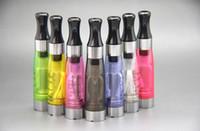Wholesale atomizer nozzle - Wholesale CE4 atomizer ego electronic smoke atomizer vaporized vaporizer round color nozzle high performance direct sale