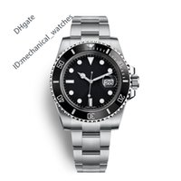 Wholesale waterproof black ceramic watches - AAA Men Sports Watch Quality Watches Men Luxury Brand Automatic Movement Watch 40mm Ceramic Bezel 116610 Waterproof 50M