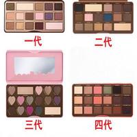 16 gölge paleti toptan satış-SıCAK Satmak Marka Makyaj Çikolata Bar Göz Farı paleti yarı tatlı bonbonlar tatlı şeftali 16 Renk Göz Farı paleti ücretsiz kargo
