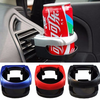 Wholesale water bottle holder cars - Clip-on Auto Car Truck Vehicle Air Condition Vent Outlet Can Drinking Water Bottle Coffee Cup Mount Stand Holder Accessories