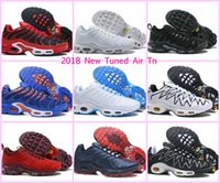 Wholesale ups tuning - 2018 NEW Vapormax AIR Tuned Plus TN Ultra Mens Running Shoes TOP Original Breathable Mesh Luminous Basket Homme TN REQUIN Outdoor RUN Shoes