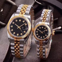 Wholesale mens automatic buckle for sale - Group buy Luxury Wristwatches Lovers Couples Style Classic Automatic Movement Mechanical Fashion Men Mens Women Womens Watch Watches Wristwatch