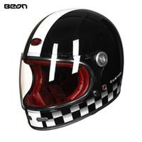capacetes preço venda por atacado-2018 beonHot Vendas de Alta Qualidade Preço de Fábrica Capacete Da Motocicleta rosto cheio firberglass shell capacete moda moto moto de cabeça casco engrenagem