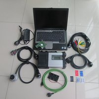 Wholesale mb star xentry diagnostic for sale - Group buy mb star c5 automotive diagnostic with hdd xentry epc wis with d630 laptop full set for mb car and truck diagnostic