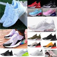 size 40 d647e 7a526 2018 Nike Air Max Flair 270 venta al por mayor alta calidad para hombre air  flair triple negro 270 amaestrador deportes shoes suela de aire para mujer  270 ...