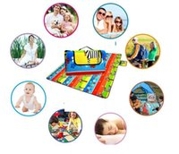 Wholesale oxford pads - Waterproof Mat Fold Beach Picnic pad Outdoor Camping Travel BBQ Oxford Cloth Pad Moisture-resistant Barbecue Lawn Mat KKA5119