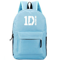 Wholesale sports direction for sale - Group buy One Direction backpack D daypack Music band schoolbag Cool design rucksack Sport school bag Outdoor day pack