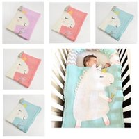 Wholesale knit baby patterns free for sale - Group buy Toddler Unicorn Pattern Knit Blankets Newborn Baby Blanket Bed Crib Infant Soft Baby Fleece Pram Crib Blanket size cm