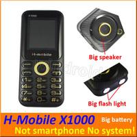 квадрантная мобильная разблокирована оптовых-H-Mobile X1000 1.8