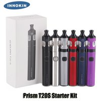 Wholesale li po - 100% Original Innokin Prism T20-S T20S Kit 1500mAh Internal Li-Po Battery 2ml Top Filling Tank Atomizers Genuine