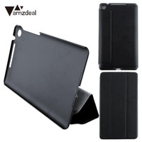Wholesale Google Smart Cover - amzdeal Magnetic Ultra Slim Smart Leather Stand Flip Folio Cover Case For Google Nexus 7 FHD 2nd