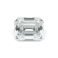 ingrosso tagli diamanti brillanti-Emerald Baguette Cut Brilliant 5pcs 2x4mm DF Color Moissanite Pietra allentata VVS Eccellente Cut Grade Test Positive Lab Diamond