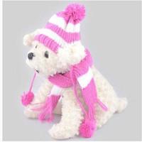 chapeaux de chien écharpes achat en gros de-2020 ventes en gros livraison gratuite ventes chaudes casquettes écharpe costume de chapeau chapeau bonnet écharpe vêtements pour chien chapeau
