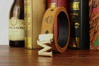 Wholesale real letters - 2018 Brand Belt Pointed M buckle belts designer belts fashion real leather belt luxury belts for mens and women business wasit belt