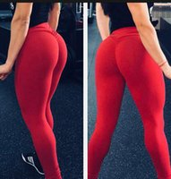 culturismo natural mujer al por mayor-Mujeres sexy Leggings Poliéster Alta calidad Cintura alta Push Up Elástico Entrenamiento casual Fitness Pantalones sexy Bodybuilding Legging High Qualit