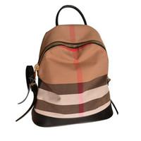 çantalar moda sırt çantaları deri toptan satış-2018 Yeni Moda Marka Kadınlar Çanta Okul Çantaları PU Deri Ünlü Tasarımcılar Sırt Çantası Kadın Seyahat Çantası Sırt Çantaları Yüksek Kalite