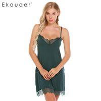 4c8dc0d784 37% Off. AUD  17.42 · Summer Slip Dress Nightgown Sleep Shirt Women Nightie  Sleepwear Chemise Night for Home Sexy Nightwear Female ...