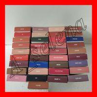 lápiz labial de color terciopelo al por mayor-Hot Lips cosmetics Lip Kit por jenner matte Lip gloss 40 colores mate terciopelo líquido lápiz labial delineador de labios