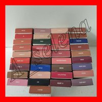 dudak parlatıcı toptan satış-Sıcak Dudaklar kozmetik jenner mat tarafından Dudak Kiti Dudak parlatıcısı 40 renkler mat kadife sıvı ruj dudak kalemi