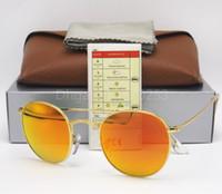 ca65baed95 Al por mayor gafas de sol para hombre naranja lentes online Gafas de sol  redondas y