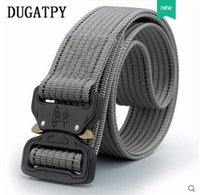 Wholesale Nylon Belts Plastic Buckles - Cobra Tactical Belt Training Military Training Nylon Special Forces Belt Multifunctional Red Outdoor Canvas Belt Male