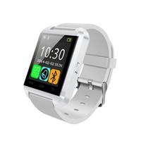 u8 смарт-часы для мужчин оптовых-U8 Bluetooth наручные часы Smart Watch Phone sport watch сенсорный экран мужчины для Android OS и IOS смартфон Samsung смартфон
