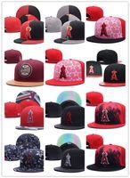 Wholesale Angels Baseball Caps - Free Shipping 2018 Los Angels snapback hats Sprots All Team snapbacks hat baseball Cap men women bone Casquette gorras Caps wholesale