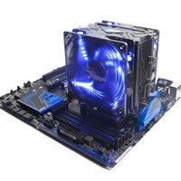 Wholesale Quiet Fans - Pccooler CPU cooler 5 heatpipes LED 4pin quiet for AMD am3 FM AM4 and Intel 775 1151 1150 computer PC cpu cooling radiator fan