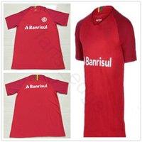 Wholesale sporting football club - 18 19 Brazilian Sport Club Internacional Soccer Jerseys N. LOPEZ D.ALESSANDRO POTTKER Customize Home Red 2018 19 Football Shirts