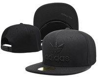 Wholesale Quality Player - 2018 hot selling Snapback Caps Adjustable Basketball Snap Back Hats Black Hip Hop Snapbacks High Quality Players Sports free shipping