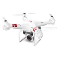 quadcopter modelleri toptan satış-MUQGEW Dört Kanatları Fotoğraf Model Uçak 2.4G Irtifa Tutun HD Kamera Quadcopter RC Drone WiFi FPV Canlı Helikopter Hover İHA