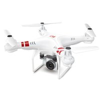 modelos de aeronaves venda por atacado-MUQGEW Quatro Asas Fotografia Modelo Aeronave 2.4G Altitude Hold HD Câmera Quadcopter RC Zangão Wi-fi FPV Ao Vivo Helicóptero Hover UAV
