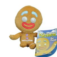Wholesale men doll toys video for sale - EMS Gingerbread Man CM Plush Doll Stuffed Pendant Best Gift Soft Toy